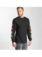 HUF T-Shirt manches longues 45 RPM noir
