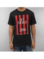 HUF T-Shirt Get Fucked noir