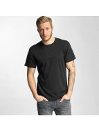 HUF T-Shirt Overdye Bar Logo noir