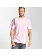 HUF T-Shirt Box Logo Puff rosa