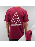 HUF T-Shirt Triple Triangle rouge