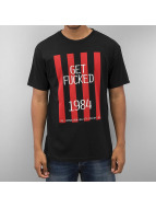 HUF T-Shirt Get Fucked schwarz