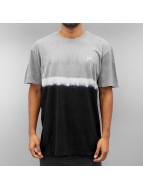 HUF T-Shirt Stripe Wash schwarz