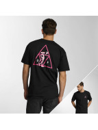 HUF T-Shirt Pink Panther Triple Triangle schwarz