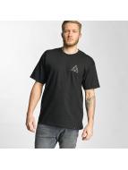 HUF t-shirt Triple Triangle zwart