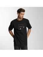HUF t-shirt Pink Panther Box Logo Apparel zwart