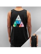 HUF Tanktop Triangle Prism zwart