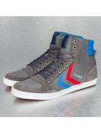 Hummel Sneaker Slimmer Stadil High Canvas grau