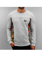 HYPE Пуловер Peacock серый