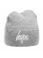 HYPE Beanie Script grå