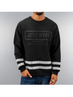 HYPE Pullover 3M Stripes black