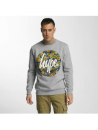 HYPE Pullover Flower Circle gris
