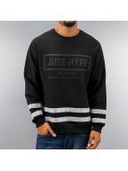 HYPE Pullover 3M Stripes noir