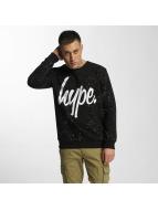 HYPE Pullover Aop Speckle noir