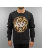HYPE Pullover Cheetah Circle schwarz