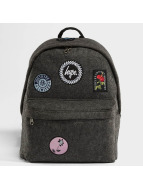 HYPE Rucksack Patch Stash grau