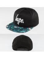 HYPE snapback cap Garden Leaf zwart