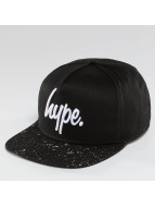 HYPE Snapback Caps Speckle musta