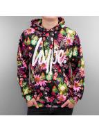 HYPE Sweat à capuche Friut Floral Aop multicolore