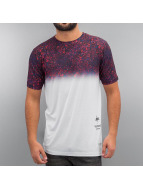 HYPE T-Shirt Specklestone Fade blanc