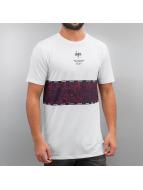 HYPE T-Shirt Specklestone blanc