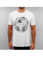 HYPE T-Shirt Mono Sands Circle blanc