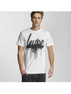 HYPE T-Shirt Drip Scrip blanc