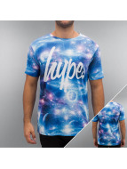 HYPE t-shirt Cosmos blauw