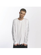 HYPE T-Shirt manches longues Taped blanc