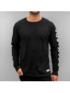 HYPE T-Shirt manches longues Justhype noir
