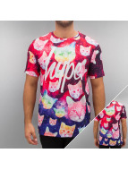 HYPE T-Shirt Cosmo Cat multicolore