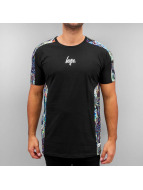 HYPE T-Shirt Wave Sport schwarz