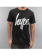 HYPE T-Shirt Aop Speckle schwarz