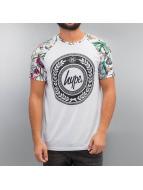 HYPE T-Shirt British Garden weiß