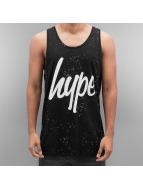 HYPE Tank Tops Aop Speckle schwarz