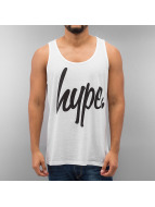HYPE Tank Tops Hype Script Vest weiß