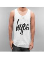 HYPE Tank Tops Aop Speckle weiß