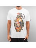 Ichiban Camiseta Floral Granade blanco