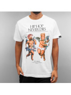 Ichiban T-Shirt Hip Hop Never Dies blanc