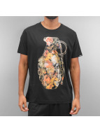 Ichiban T-Shirt Floral Granade schwarz
