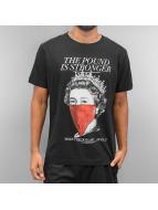 Ichiban T-Shirt Pound Is Stronger schwarz