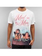 Ichiban T-Shirts Mind On My Money beyaz