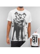 Ichiban T-Shirts Hip Hop New York 81 beyaz