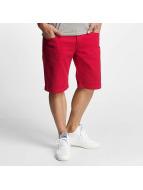 ID Denim Twill Shorts Red