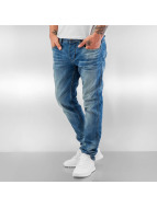 ID Denim Straight Fit Jeans Zack blau