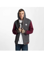 Iriedaily College Jacke Daily Hooded grau