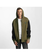 Iriedaily College Jacke Daily Hooded olive