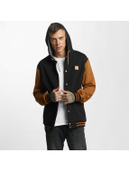 Iriedaily College Jacke Daily Hooded schwarz