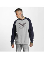 Iriedaily Pullover Rugged Flag grau