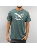 Iriedaily T-Shirt Daily Flag grün